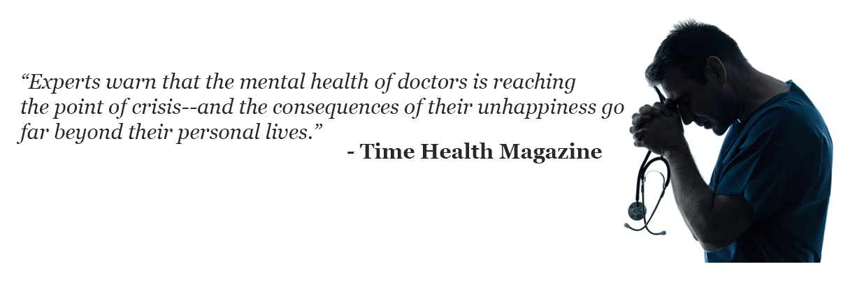 quote about physician burnout
