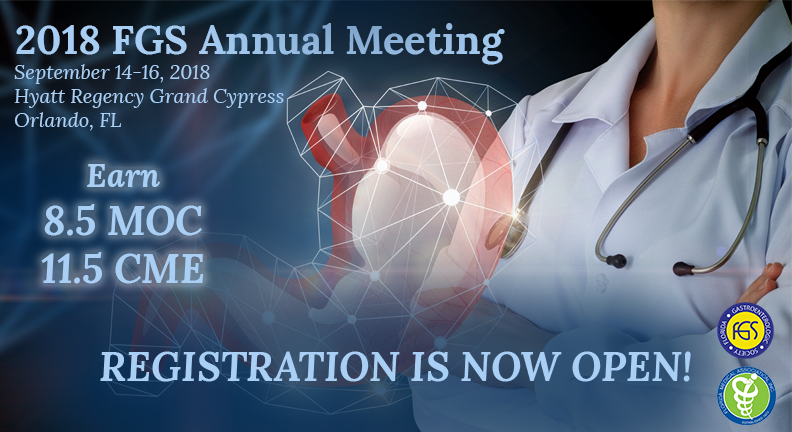 2018 FGS Annual Meeting Registration is now open