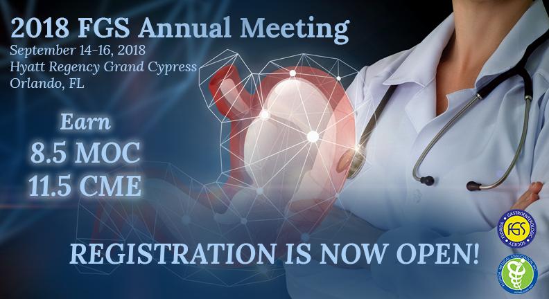 2018 FGS Annual Meeting - Florida Gastroenterologic Society