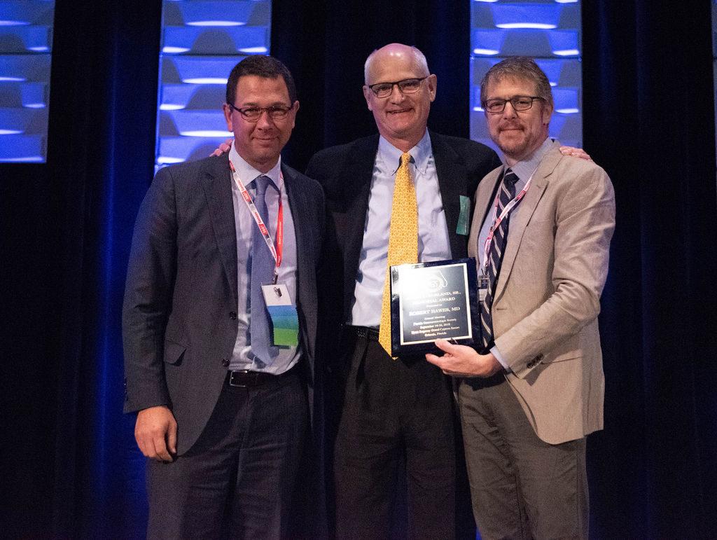 FGS Borland Award presented to Dr. Robert Hawes