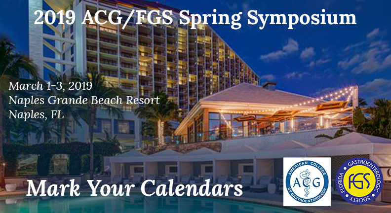Florida Gastroneterologic Society and ACG spring symposium