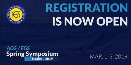 2019 ACG/FGS Spring Symposium - Florida Gastroenterologic Society